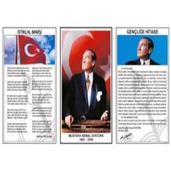 Milli Levha Çerçevesiz  50x90