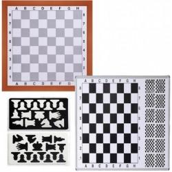 Satranç Tahtası Manyetik Duv.Monte.80x90