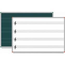 Müzik Ve Güzel Yazı Çizgili Yazı Tahtası 120x200 Duv.Monte