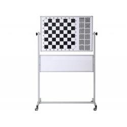 Satranç Tahtası Manyetek Tekerli 110x100