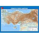 Türkiye Siyasi Fiziki Haritası