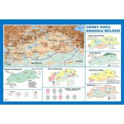 Güney Doğu Anadolu Bölgesi Haritası