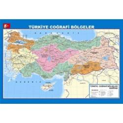 Türikiye Coğrafi Bölgeler Haritası