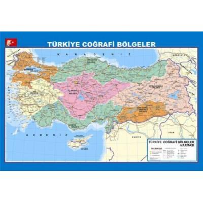 Turkiye Cografi Bolgeler Haritasi