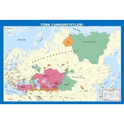 Türk Cumhuriyetleri Haritası